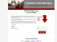 fashionjobreview.com ContactUs, PrivacyPolicy, TermsofUse