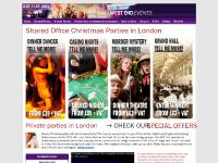 London Christmas Party and London Office Party Planners