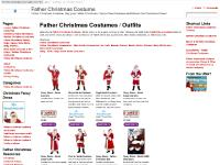 Father Christmas Costume | Father Christmas Costumes Outfits