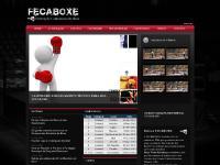 fecaboxe.com.br Boxe, Federação, Luta