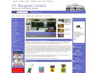 femaughan.co.uk Order Status, Gift Certificates, F.E. Maughan Limited