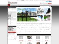 fencesupplysource.com steel fencing, steel fence, residential steel fencing