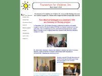 Foundation for Children, Inc. - Home