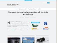 fiberfloat.se Startsida, Produkter, Branscher