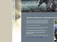 fibergi svenskt kvalitetsfoder foder hästar utfodring hästfoder kraftfoder foderblandning henrik hedberg halmstad
