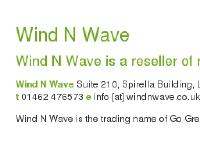Wind N Wave 100% Renewable Energy