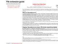 File extension guide