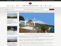 Fincas Exclusivas Inmuebles Casas Villas lujo Barcelona Costa Brava