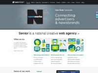 We're Senior, a national creative web agency - Website design, Content Management,