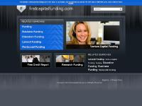 Education Funding, Lawsuit Funding, Restaurant Funding, Venture Capital Funding