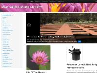 fishandlily.com.au Swan Valley Fish and Lily Farm, Fact Sheets, Pumps ...