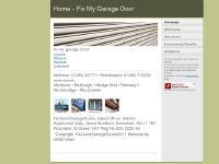 Home - Fix My Garage Door
