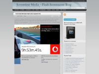 Screentime Media – Flash Screensaver Blog - Flash Screensavers Created With