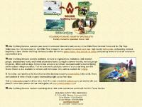 flattops.com horseback pack trips, fishing trips