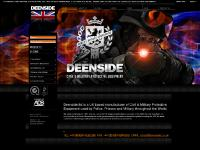Deenside - Protective Equipment for Police, Prisons, Civil & Military Equipment