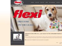 Retractable leash, cord leash, and belt leash supplier flexiusa.