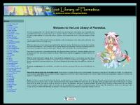 The Lost Library of Florestica :: An Archive of Anime and Manga Fan Fiction (News)