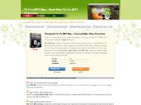 Wonderful FLV to MP3 Mac---Mac FLV to MP3, Convert FLV to MP3 on Mac