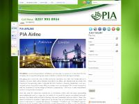 fly-pia.co.uk PIA, PIA airline, PIA airline UK