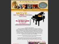 F.M.OLDE PIANO REMOVALS - PIANO REMOVALS - PIANO STORAGE!