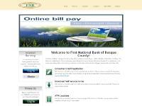 fnbbosque.com Logo, Personal, Loans