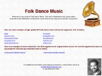 folkdancemusic.com