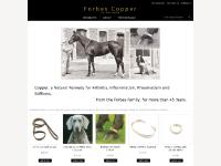 Where We Are Now, copper collars, pasterns straps, copper products page