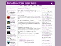 forbiddenfruitrecordings.co.uk underground house, tech-house, techno