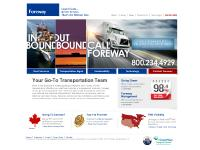 foreway.com 3pl providers, air freight, canada trucking
