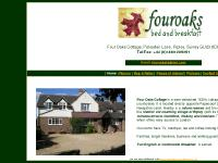 fouroaksbb.co.uk bed and breakfast ripley, woking b&b, surrey be