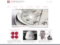 fourprinciples.co.uk English, العربية, LEAN
