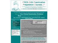 frcsorth.co.uk the frcs exam, frcs orth, viva