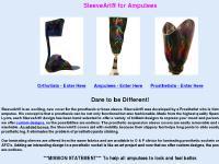 fredslegs.com amputee, amputation, laminating sleeve