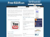 Free RSVP Service | Free Online Rsvp Service | Free online events organiser | Online RSVP
