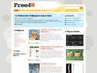 Free4W-free wallpapers wordpress windows themes