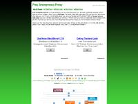 Free Anonymous Proxy | Free Anonymous web surfing Proxy | Anonymously surf the