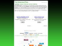 Free Anonymous Proxy | Free Anonymous web surfing Proxy | Anonymously surf the web | Free anonymous Cgi Proxy