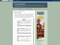 freeguitarmusic.blogspot.com guitar, music, sheet music