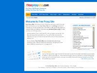 Free Proxy, Free Proxy site - Web proxies List