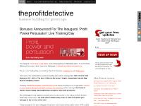 The Profit Detective — Business Building For Grown-Ups