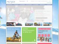 Frosch Sportreisen - Sporturlaub • Skireisen • Aktivreisen • Singlereisen