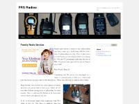 frsradios.com FRS Radio, family radio service