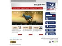 First State Bank: Home