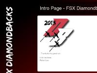Intro Page - FSX Diamondbacks
