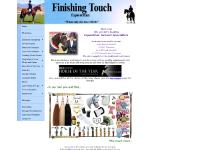 Finishing Touch Equestrian - New Zealand (NZ) Home of Finest Equestrian Turnout Equipment