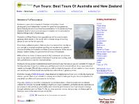 Fun Tours Travel Guide Australia New Zealand
