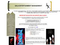 galaentertainmentmanagement.com international agency,arts,contortionist