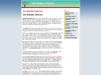 Gall Bladder Infection