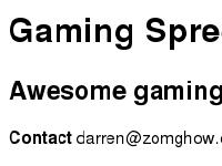 gaming-spree.com
