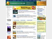 ganancia.com.br Início, Acampamento, Alcance